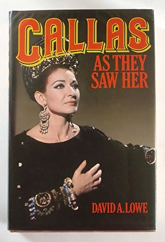 9780860514114: Callas: As They Saw Her