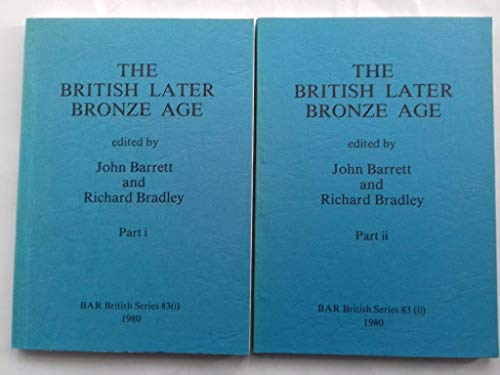 9780860541080: Settlement and society in the British Later Bronze Age (British Archaeological Reports British Series)
