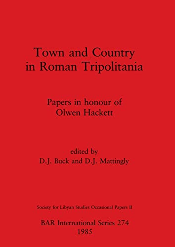 9780860543503: Town and Country in Roman Tripolitania (British Archaeological Reports International Series)