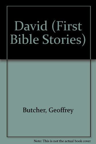 9780860657415: David: First Bible Stories