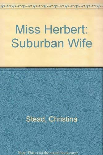 9780860681359: Miss Herbert: Suburban Wife