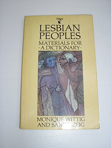 9780860681748: Lesbian Peoples: Material for a Dictionary