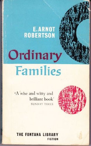 9780860682813: Ordinary Families: A Novel (Virago Modern Classics)