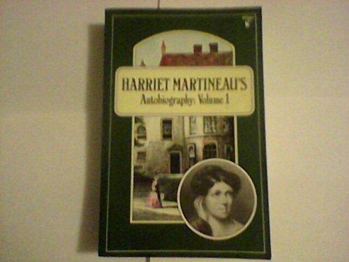 9780860684251: Harriet Martineau's Autobiography: Vol. 1