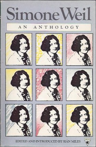 9780860685548: Simone Weil.An Anthology