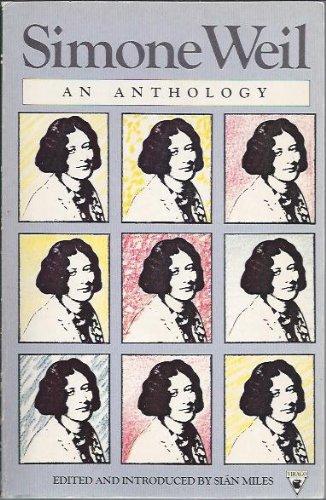 9780860685548: Simone Weil.An Anthology