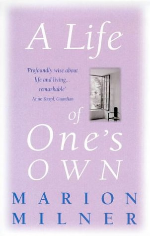9780860688211: A Life of One's Own