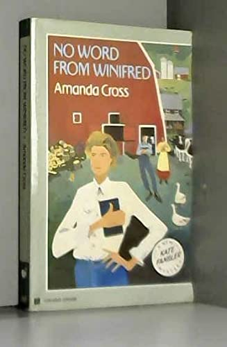 9780860688532: No Word from Winifred (Kate Fansler Novels)