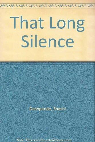 that long silence by shashi deshpande