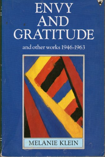 9780860689621: Envy And Gratitude & Other Work