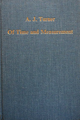 9780860783787: Of Time and Measurement: Studies in the History of Horology and Fine Technology (Collected Studies , Cs407)