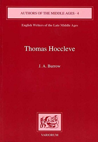 9780860784197: Thomas Hoccleve (Authors of the Middle Ages)