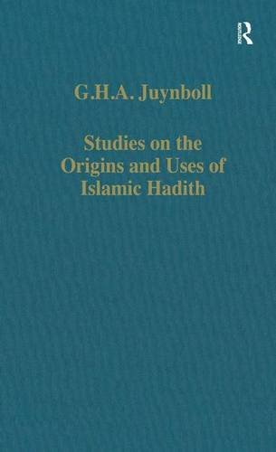 Studies on the Origins and Uses of: G. H. A.