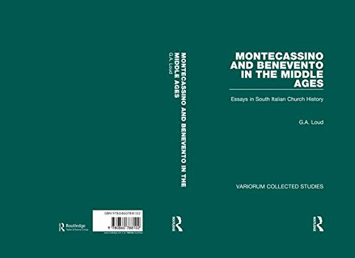9780860788102: Montecassino and Benevento in the Middle Ages: Essays in South Italian Church History