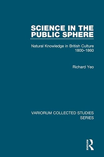 9780860788652: Science in the Public Sphere: Natural Knowledge in British Culture, 1800-1860