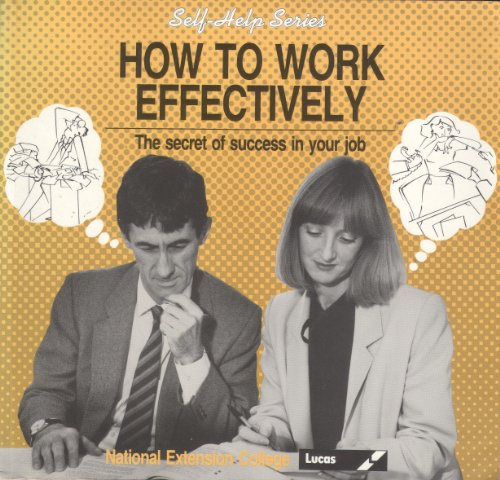9780860826996: How to Work Effectively (Self-help)
