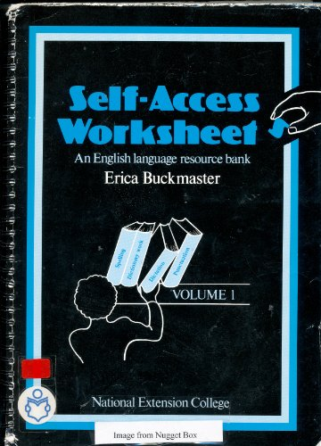 9780860827436: Self Access Worksheets: v. 1