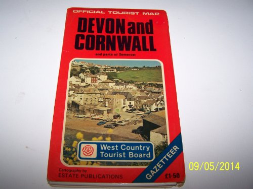 9780860842484: Devon and Cornwall: And Parts of Somerset (Official Tourist Map)