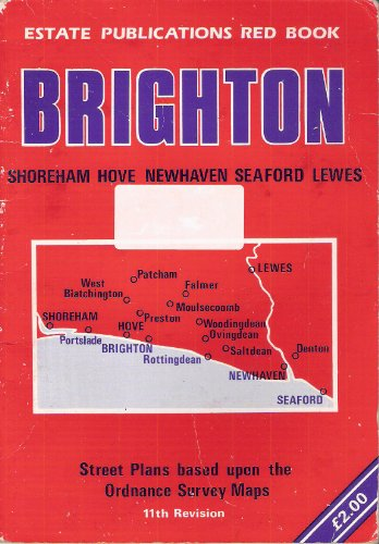 Brighton Red Book Street Plans (11th revision): Estate Publications