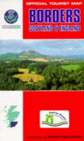 9780860846772: Borders of England and Scotland (Official Tourist Map)