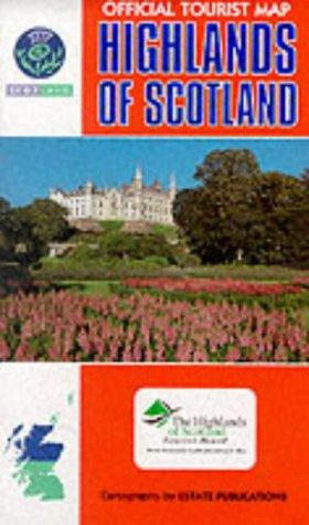 9780860849087: Highlands of Scotland (Official Tourist Map)
