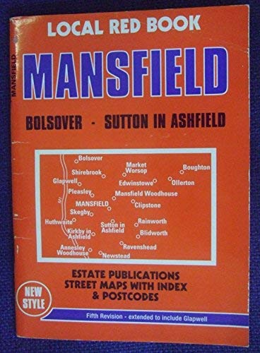 9780860849704: Mansfield and Mansfield Woodhouse (Local Red Book)