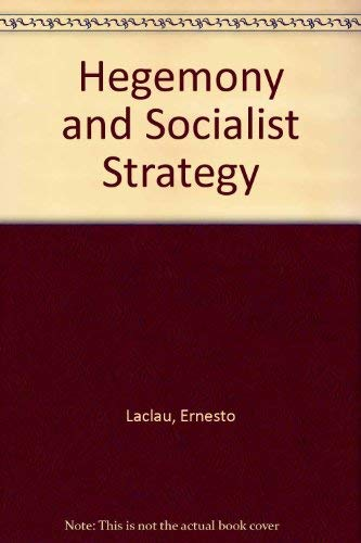 9780860910671: Hegemony and Socialist Strategy (English and Spanish Edition)