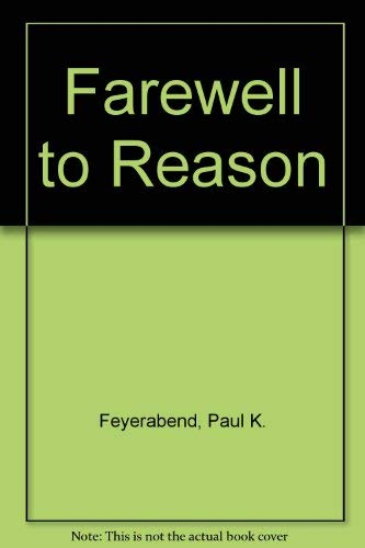 9780860911845: Farewell to Reason