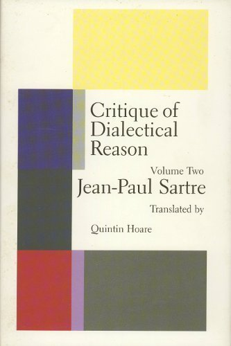 9780860913115: Critique of Dialectical Reason, Vol. 2: The Intelligibility of History