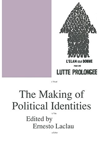 9780860914099: The Making of Political Identities (Phronesis)