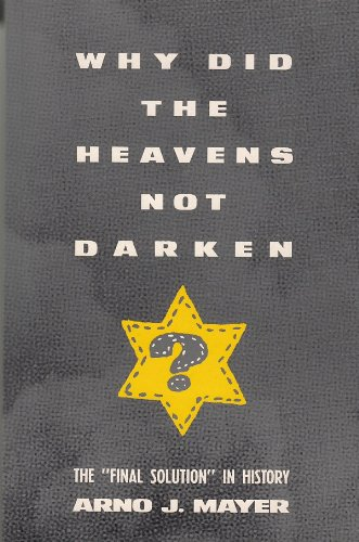 9780860915096: Why Did the Heavens Not Darken?: The