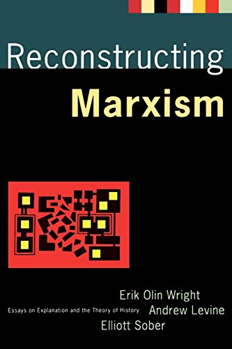9780860915546: Reconstructing Marxism: Essays on the Explanation and the Theory of History: Essays on Explanation and the Theory of History