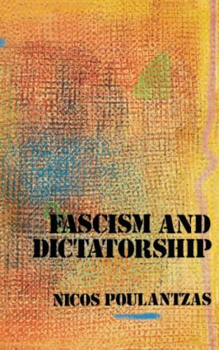 9780860917168: Fascism and Dictatorship: The Third International and the Problem of Fascism: Third International and the Problems of Fascism