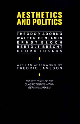 9780860917229: Aesthetics and Politics: Debates Between Bloch, Lukacs, Brecht, Benjamin, Adorno