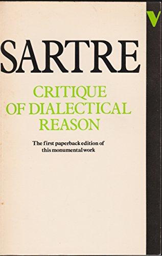 9780860917571: Critique of Dialectical Reason, Vol. 1: Theory of Practical Ensembles