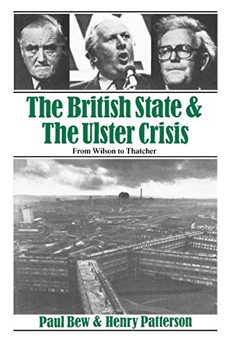 9780860918158: The British State & The Ulster Crisis