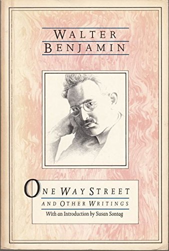 9780860918363: One-way Street and Other Writings