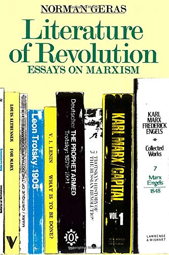 literature revolution essays marxism by norman geras abebooks literature of revolution essays on marxism geras norman