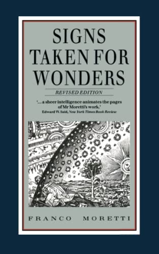 9780860919063: Signs Taken for Wonders: Essays in the Sociology of Literary Forms