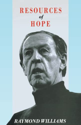 9780860919438: Resources of Hope: Culture, Democracy, Socialism