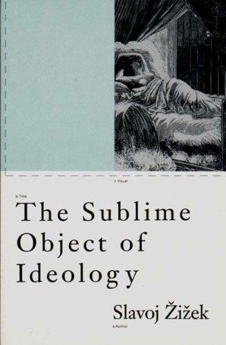 The Sublime Object of Ideology (Phronesis): Zizek, Slavoj