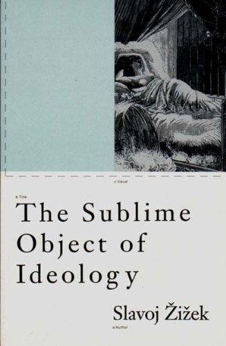 9780860919711: The Sublime Object of Ideology (Phronesis)