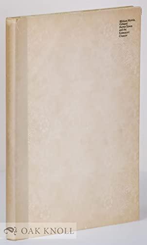 William Morris, Edward Burne-Jones and the Kelmscott Chaucer: Robinson, Duncan