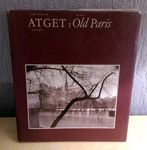 9780860920670: Work of Atget: Old Paris v. 2
