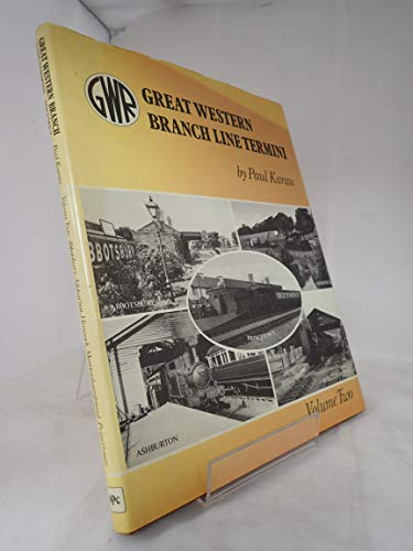 9780860930181: Great Western Branch Line Termini: v. 2
