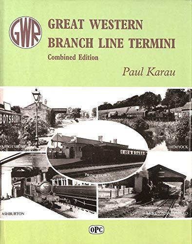 9780860933694: Great Western Branch Line Termini: Combined Editon (Vols 1 & 2): Vol. 1