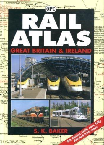 9780860935346: Rail Atlas Great Britain and Ireland