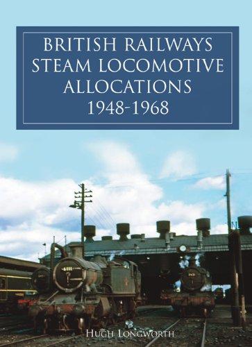 9780860935933: British Railway Steam Locomotives 1948-1968