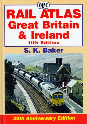 9780860936022: Rail Atlas Great Britain and Ireland
