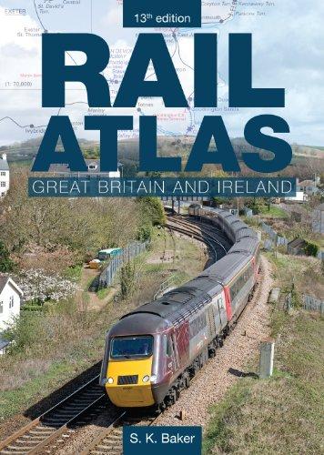9780860936510: Rail Atlas Great Britain and Ireland